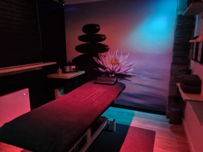 Hot Stone massageruimte Pedicure Corinda
