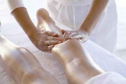 Massage onderbeen - Pedicure Corinda