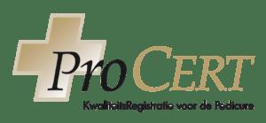 ProCERT logo Pedicure Corinda